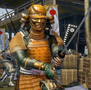 Самурай в Shogun 2