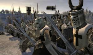 Тевтонские рыцари готовы к бою