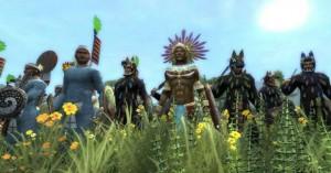 Ацтеки вышли на тропу войны