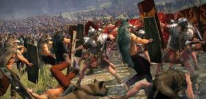 Боевые собаки в Рим 2
