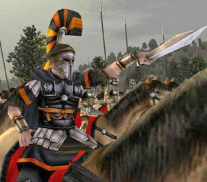 Рим тотал вар солдат на коне